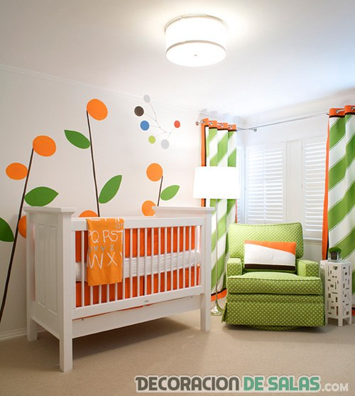 habitación infantil a todo color