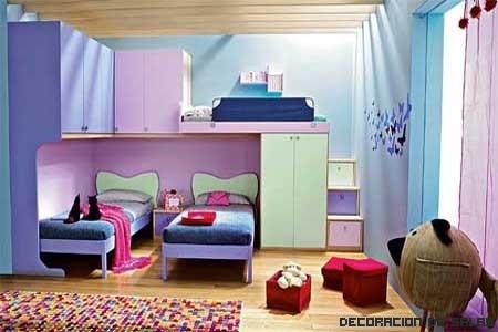 Almacenamiento en la habitación infantil