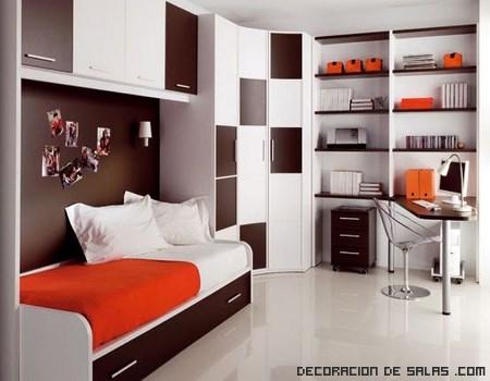 habitaciones bicolor