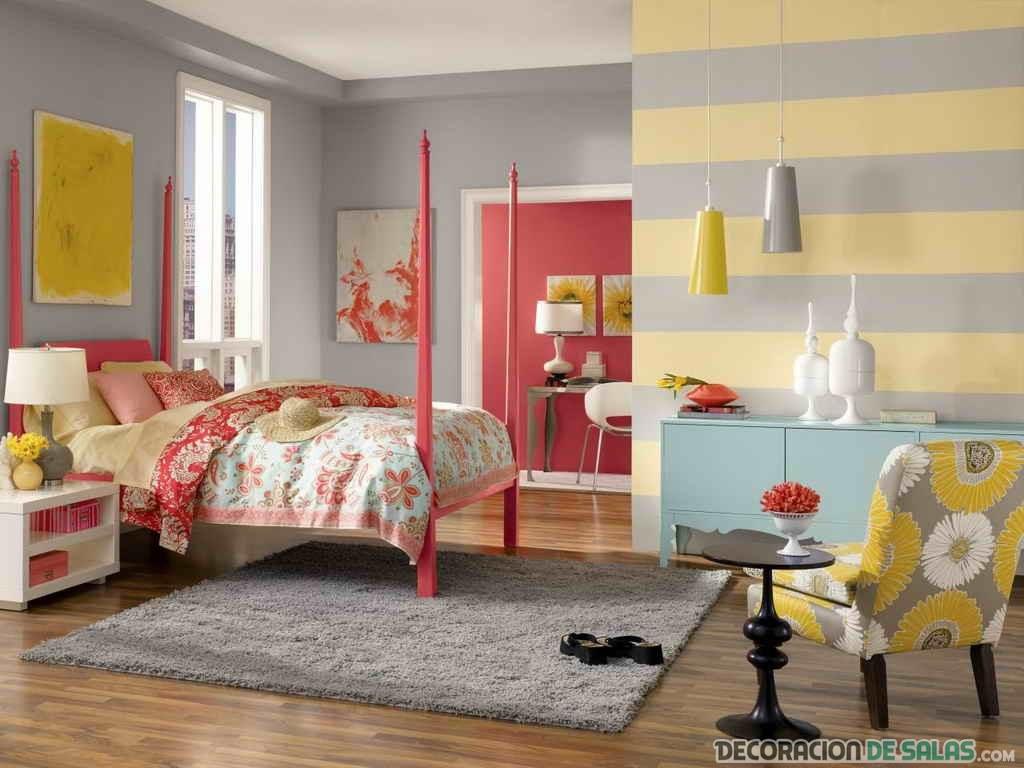 El color coral inunda nuestra decoración de interiores