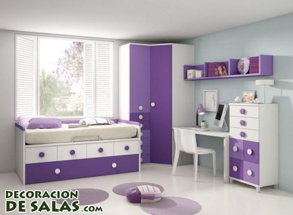 Dormitorios en malva - Dormitorio malva ...