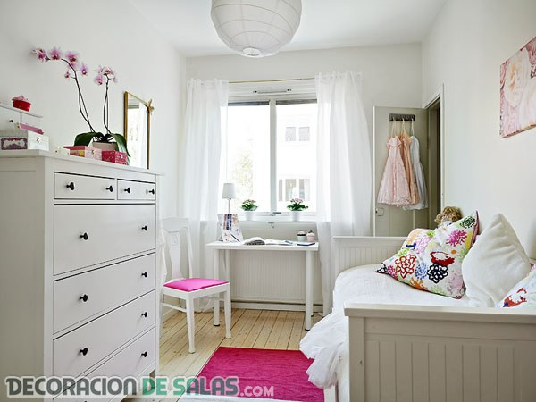 Colores perfectos para dormitorios peque os for Colores para dormitorios pequenos