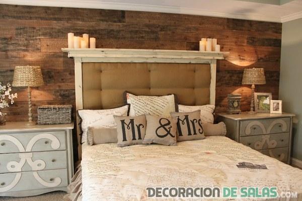 Decoraci n r stico vintage para tu hogar - Decoracion habitacion rustica ...