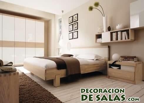 habitaciones acogedoras en color marrón