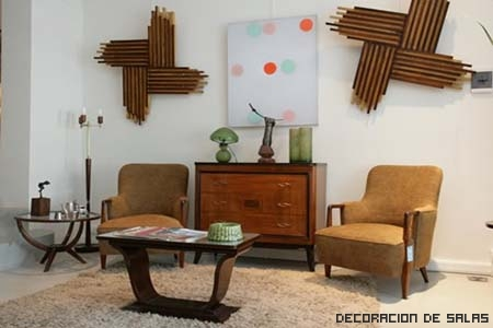 Claves de la decoraci n retro for Muebles hippies