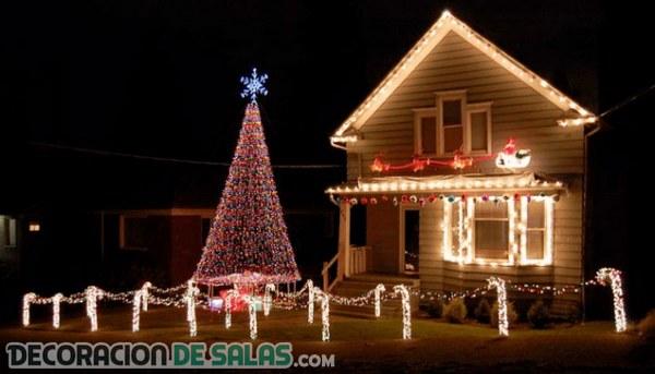 Ideas para decorar de Navidad el exterior