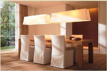 Una iluminaci n para cada estancia - Iluminacion comedor ...