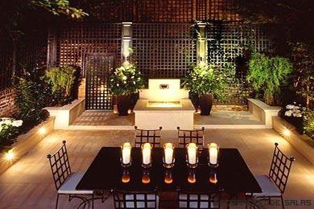 Claves b sicas de iluminaci n de exteriores for Iluminacion terraza