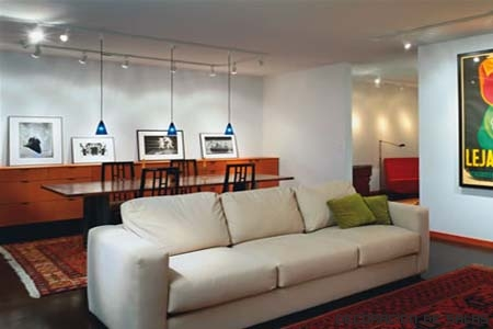 Iluminacion salon moderno awesome para with iluminacion - Iluminacion para comedor ...