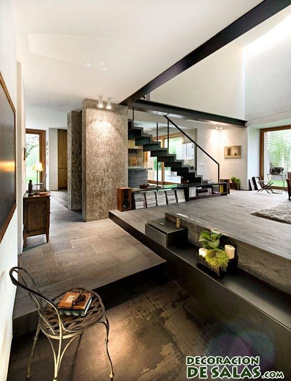 Tres ideas de loft moderno