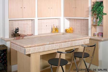 Encimeras de azulejos for Ceramica cocina decoracion