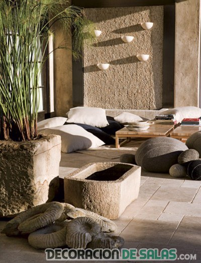 Decoraci n de interiores con estilo zen - Decoracion jardin zen ...