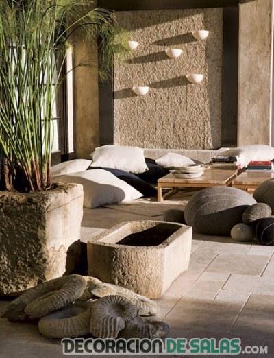 Decoraci n de interiores con estilo zen - Decoracion zen salon ...