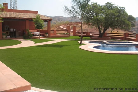 Dise a tu jard n for Jardines con piscina