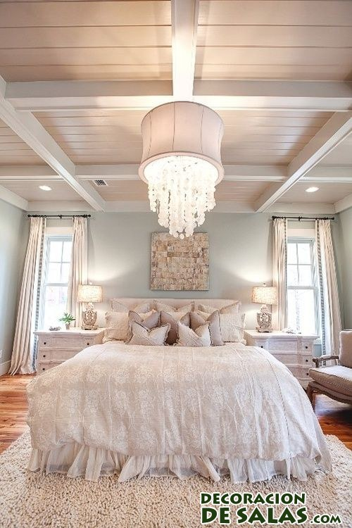 Grandes l mparas para grandes dormitorios - Lampara para dormitorio ...