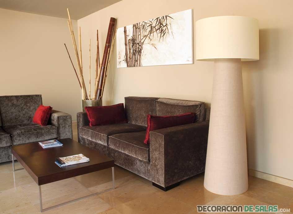L mparas de pie para tus salones modernos - Lamparas para salones ...