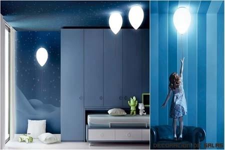 Lámparas infantiles con mucha imaginación