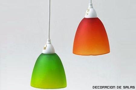 lamparas de plastico