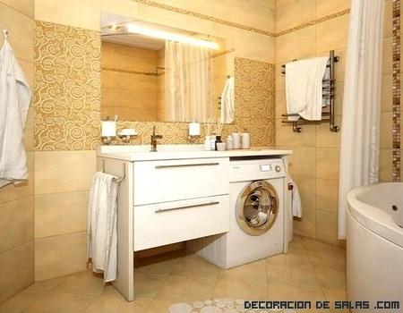 Coloca tu lavadora en el ba o - Instalar lavadora en bano ...