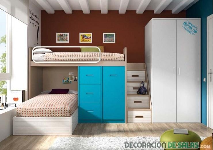 literas juveniles para casas pequeñas