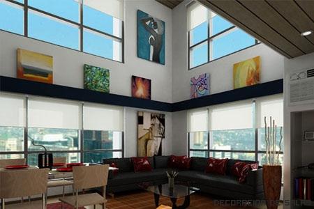 Decorar un piso de 40 metros cuadrados for Como amueblar un loft de 35 metros