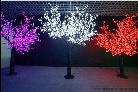 luces exterior navidad