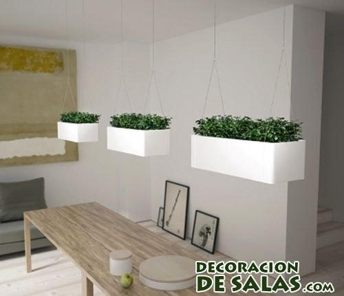 Maceterospara comen originales para tus plantas de interior for Maceteros para salon