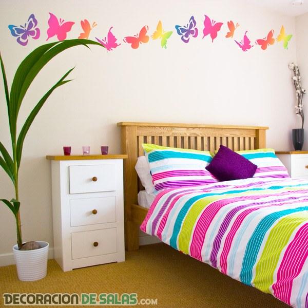 Mariposas para tus paredes - Mariposas para pared ...