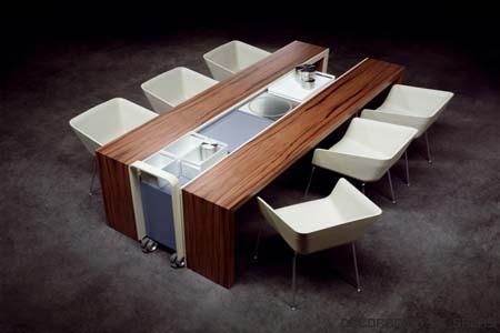La mesa de cocina m s adecuada - Mesa de cocina pequena ...