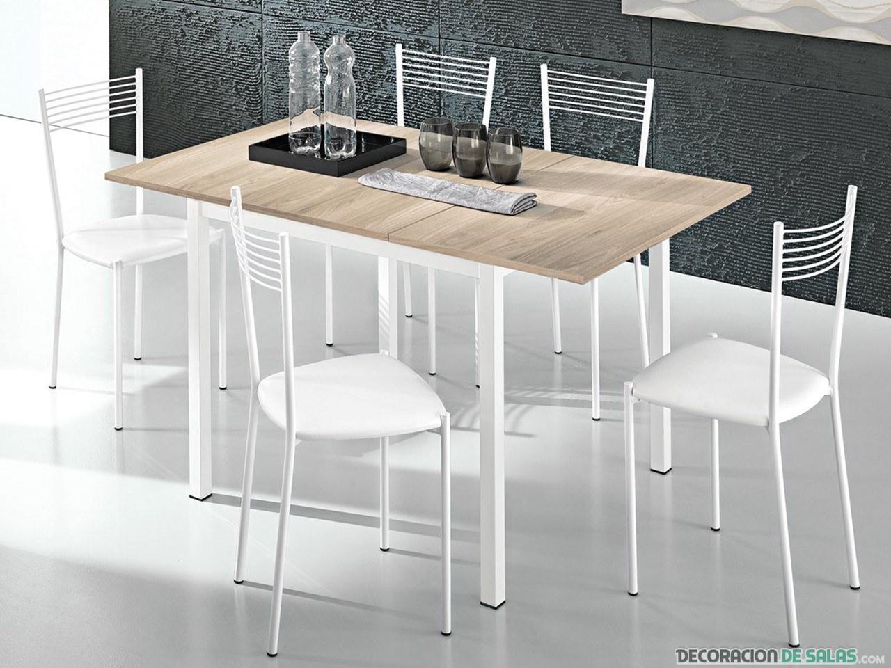 Porqu colocar una mesa en la cocina for Mesa cocina blanca
