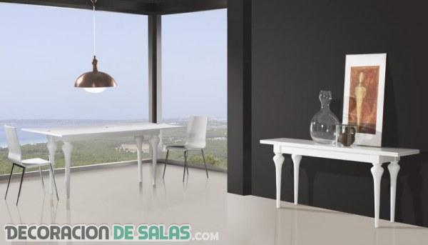 Te gustan las mesas de comedor consola?