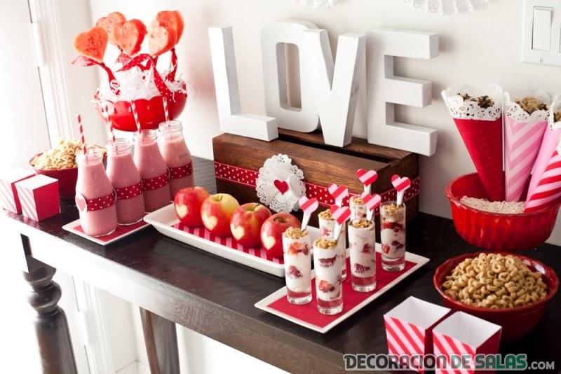 Distintas mesas para un mismo san valent n for Mesa para san valentin