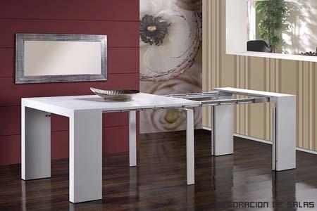 La mesa de cocina m s adecuada - Comoda mesa extensible ...
