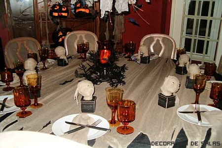 Decoraci n para halloween - Decoracion mesa halloween ...