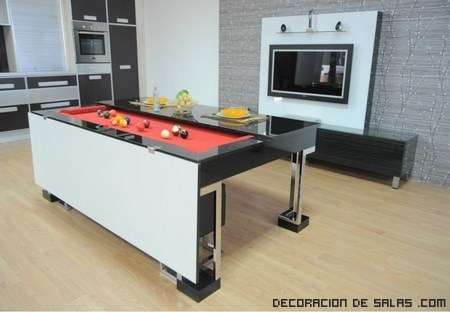 Mesas convertibles de la firma koralturk - Mesas para cocinas modernas ...