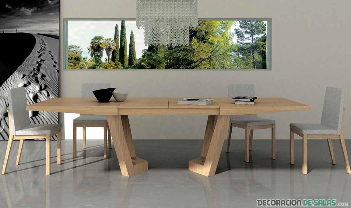 mesas extraíbles de comedor