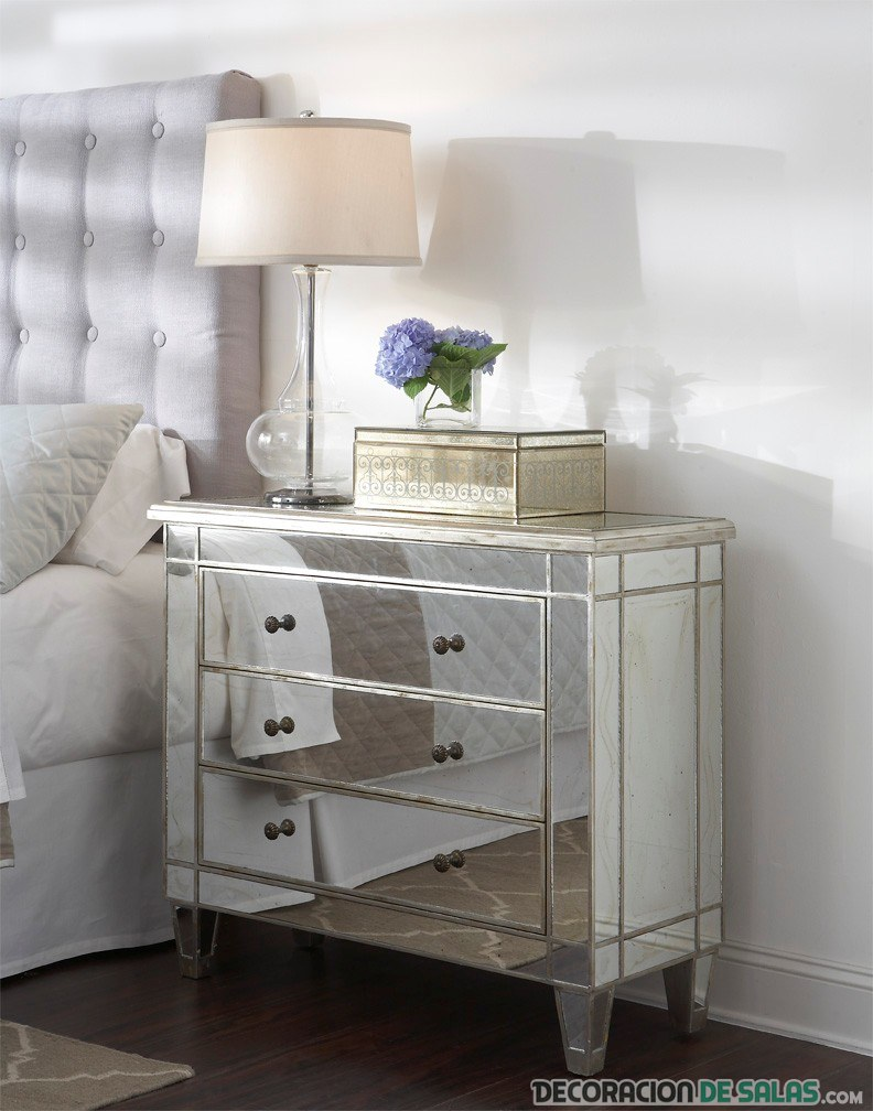 Muebles De Espejo Para Decorar Tu Hogar # Muebles Efecto Espejo