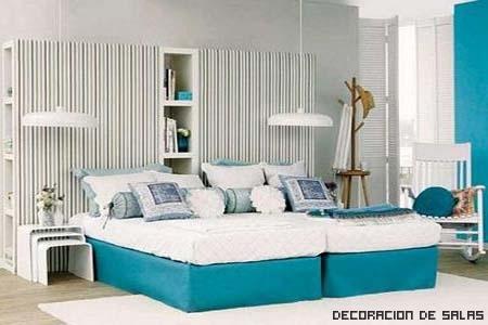 Almacenamiento en el cabecero - Como tapizar un cabecero de cama ...