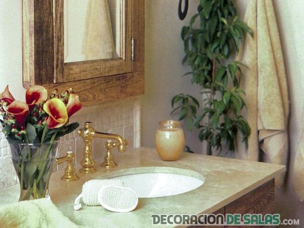Baño Pequeno Rustico:Baños rústicos pequeños, un estilo perfecto en tu hogar