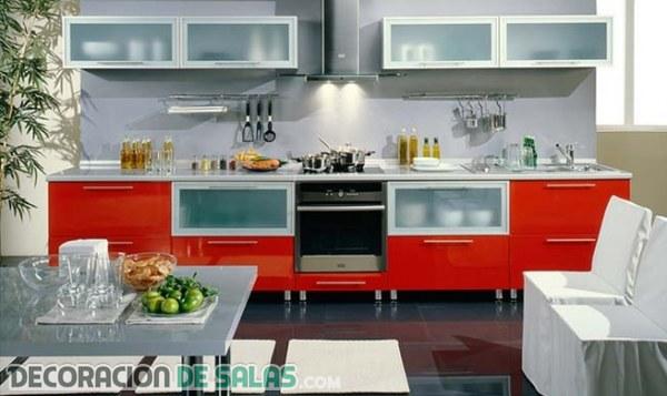 Muebles Cocina Color Rojo : Muebles en color rojo una apuesta muy vibrante