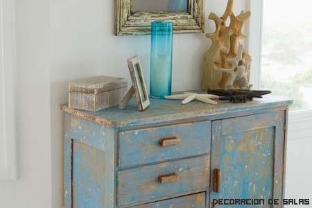 Consigue un efecto cuarteado en los muebles