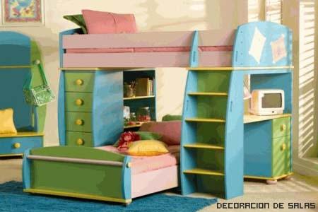 Cómo decorar una habitación infantil pequeña