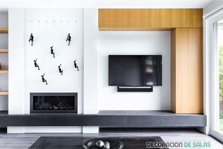 mueble original de sala minimalista