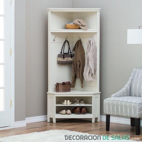 mueble para decorar las esquinas de casa