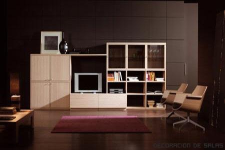 Sal n ordenado for Recoger muebles