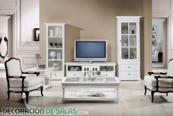 Consejos para la decoración con muebles blancos