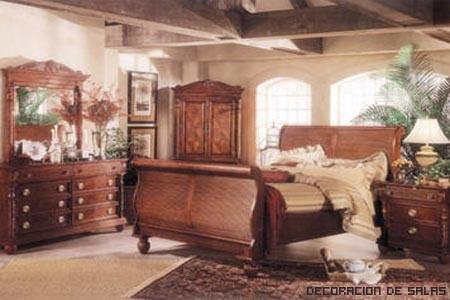 Decoracion al estilo ingl s - Muebles tipo colonial ...