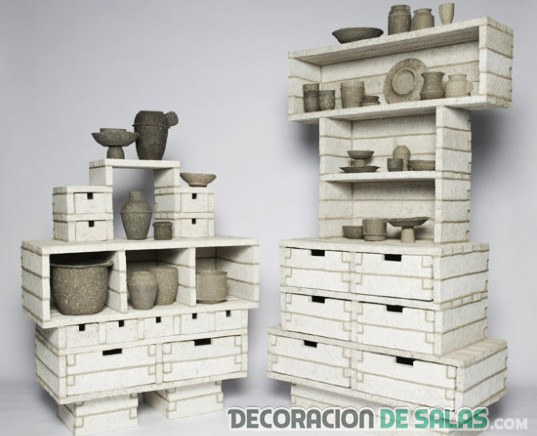 Muebles de papel - Muebles de papel ...