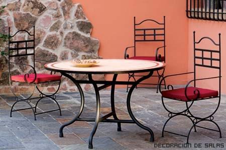 Tipos de muebles para el jardin - Muebles de jardin de forja ...