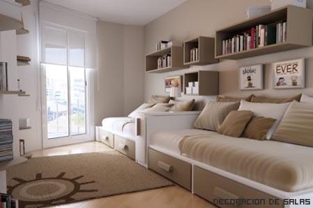 muebles habitacion pequeña